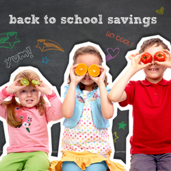 Coupons.com back to school marketing campaign